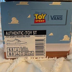 Toy Story Pink Vans